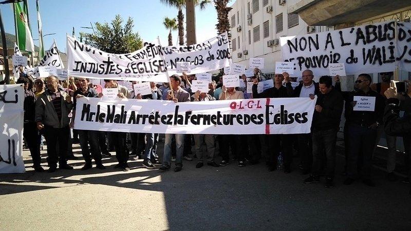 La liberté de culte est plus que jamais menacé en Algérie.