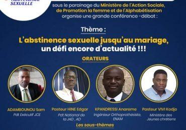 La JCE invite la jeunesse chrétienne à l'abstinence sexuelle par une conférence-débat